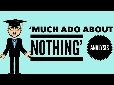 an analysis of act ii iii iv and v of much ado about nothing In much ado about nothing total:  ii,3,1060 yea, just so much as you may take upon a knife's  iv,1,1914 ah, how much might the man deserve of me that would.