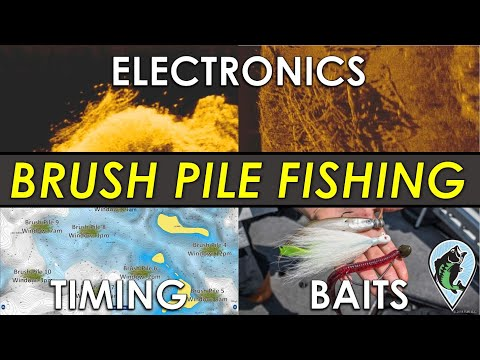 Complete Guide To Brush Pile Fishing | Sonar Images, Areas, Baits, Timing And More For Bass!