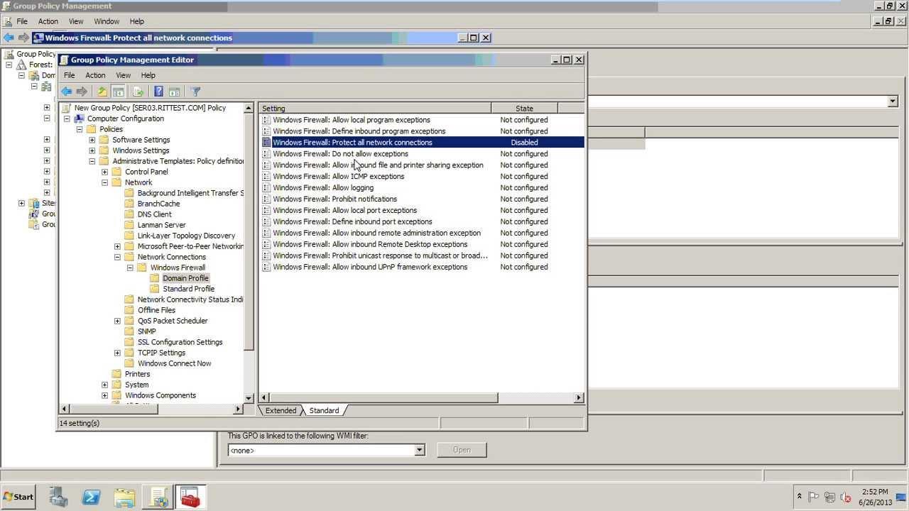 disable firewall windows 10 gpo