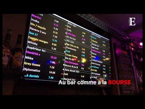 Au bar comme à la Bourse