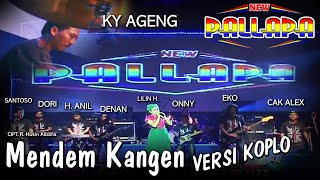 Mendem Kangen - Versi Koplo New Pallapa ( Official Music Video )