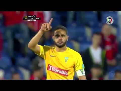 Estoril (1)-1 Benfica (Liga 31ªJ): Golo de Halliche