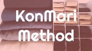 KonMari Method - How to Fold Your Clothing-