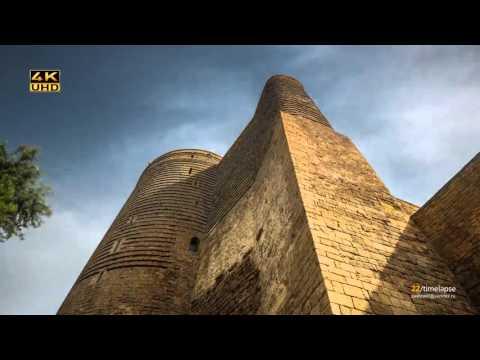 Быстрый обзор Азербайджана - timelaps 4K Baku / Azerbaijan