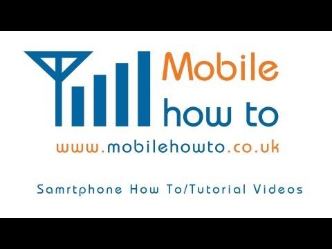How To Insert/Remove a MicroSD Memory Card - HTC Desire C