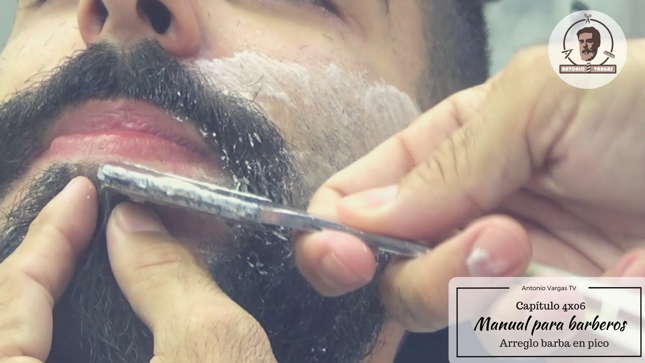 manual para barberos 4x06 arreglo barba en pico doovi. Black Bedroom Furniture Sets. Home Design Ideas