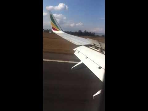 737-800 Landing In Lilongwe