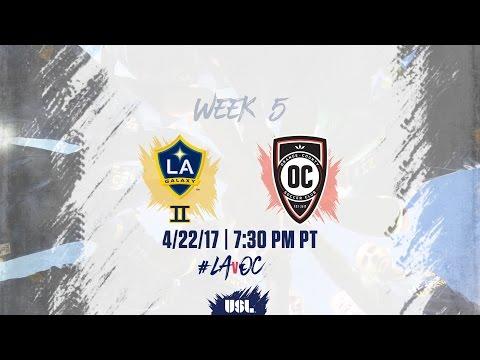 USL LIVE - LA Galaxy II vs Orange County SC 4/22/17