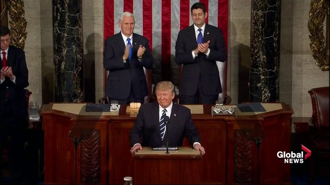 U.S. President Donald Trump full speech to Congress - YouTube