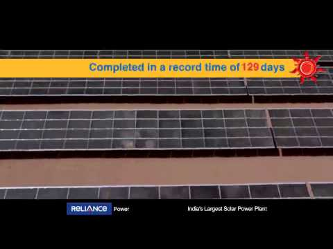 40 MW Solar PV Plant | 2012 | Reliance Power