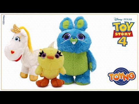 Toy Story 4 - Pelúcias Botão de Ouro, Coelhinho e Patinho
