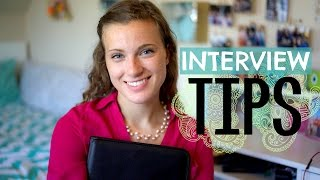 How to Interview // Tips + Tricks