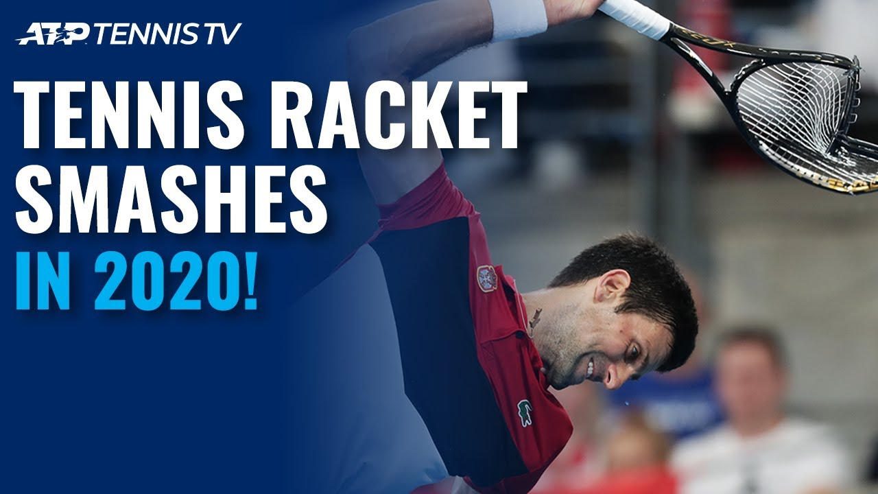 Epic Tennis Racket Smashes in 2020 Season!
