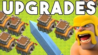 NO WALLS - Clash of Clans - TH8 NO WALLS - ALL MY BUILDERS BUSY