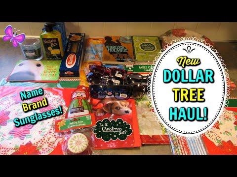 DOLLAR TREE HAUL!  Name Brand Sunglasses! November 8, 2019   LeighsHome