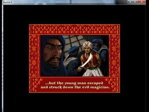 Prince Of Persia 2 The Shadow And The Flame - Apple Macintosh - emulador Basilisk II 0.8 - Windows 7