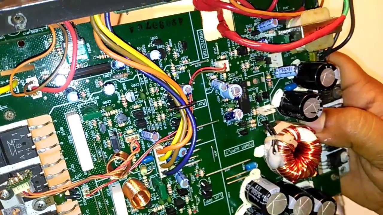 Sony Car Amplifier Repair Youtube Gain Control Circuit Diagram Amplifiercircuit Howtomakeamplifier 2sc5200