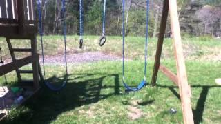 How Not To Use Backyard Playground Equipment