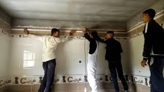 كيفية تركيب السقوف البلاستيكية مع إسلام ديكور المنزل