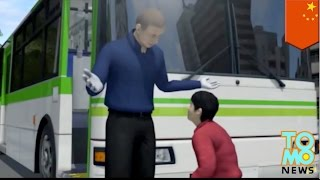 Anak manja menyerang pengemudi lalu menggigit orang lewat - Tomonews