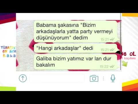 Gülmekten Yaran & Koparan En Komik Whatsapp Konuşmaları