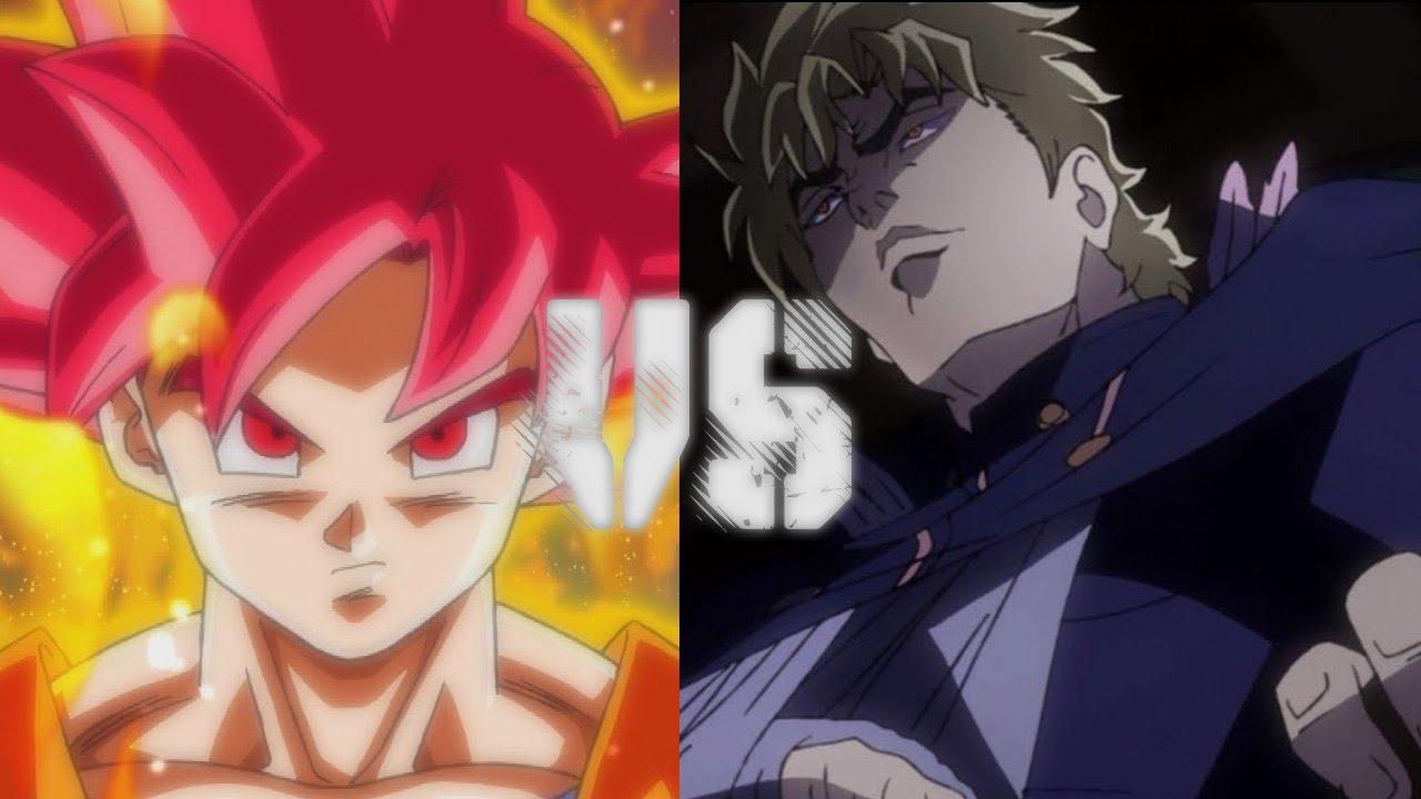 Goku Vs Dio (Dragon Ball Z Vs  JoJo's Bizarre Adventure)
