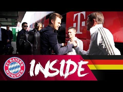So sieht's im FC Bayern Mannschaftsbus aus! 🚌  - Teil 2   Inside FC Bayern