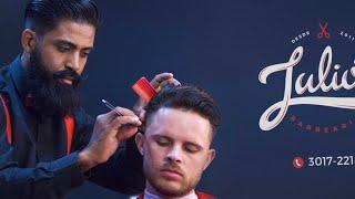 Curso de Barbeiro: como passar a máquina zero