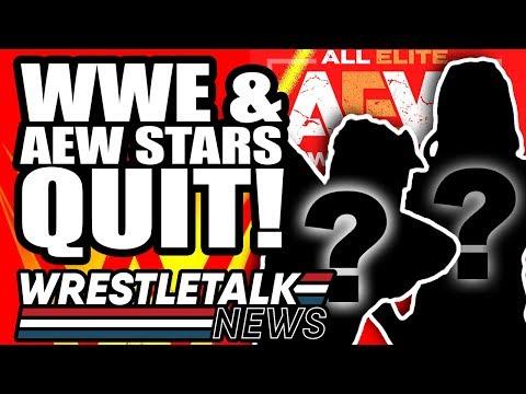 WWE & AEW Stars QUIT! AEW All Out Backstage News! | WrestleTalk News Sept  2019