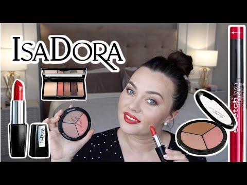 Тестируем косметику IsaDora / Testing IsaDora Makeup