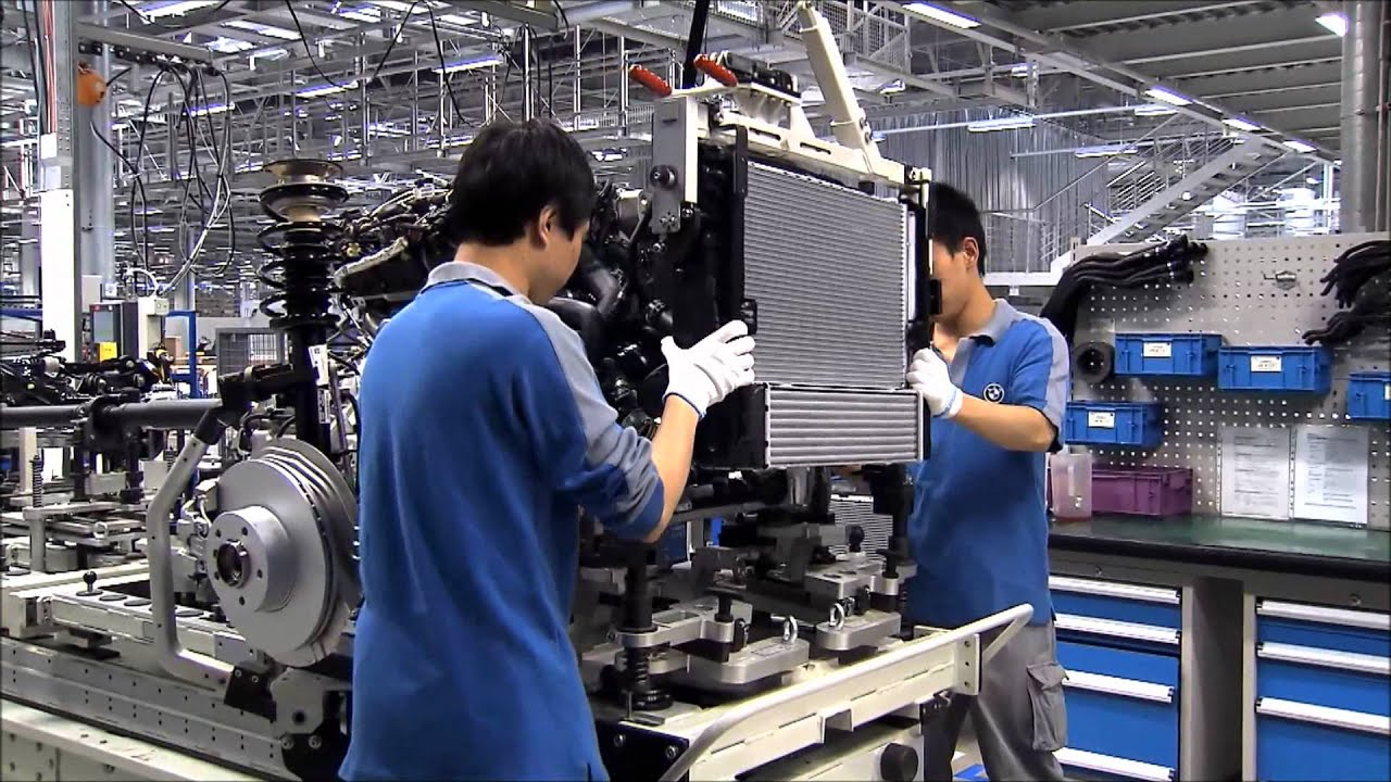 Bmw S Chinese Factory Youtube