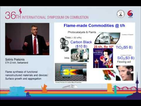 Flame Synthesis of Functional Nanostructured Materials and Devices, Sotiris Pratsinis