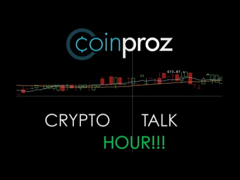 Coin Proz Crypto Talk Hour - Gems, Counterparty, Future Of Bitcoin, Bitcoin Projets
