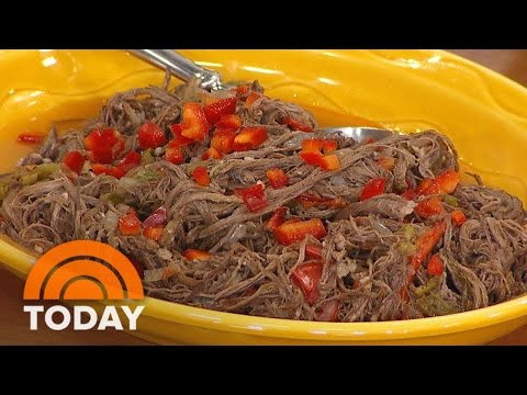 Pressure Cooker Recipes: Pulled Flank Steak In Red Wine Sauce | TODAY