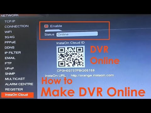 How To Make Cp Plus DVR Online | Enable DVR Status Online For Remote View On Mobile & Laptop