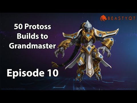 StarCraft 2: NEVER ATTACK STRATEGY?! - 50 Protoss Builds to Grandmaster Episode 10