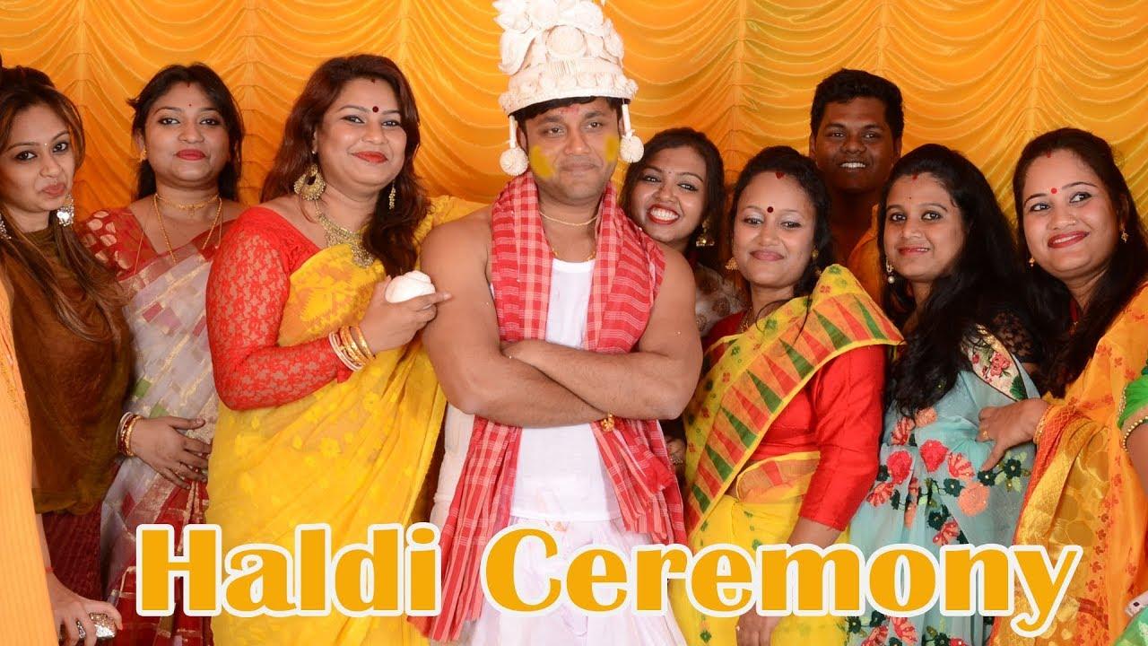 Haldi Video Song Of Groom Side Wedding Highlights Rajpiya
