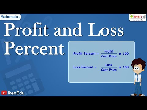 profit and loss percent youtube