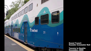 Sound Transit Sounder Commuter Rail - Tacoma to S