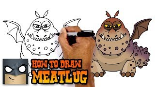 How to Draw Meatlug | How to Train your Dragon