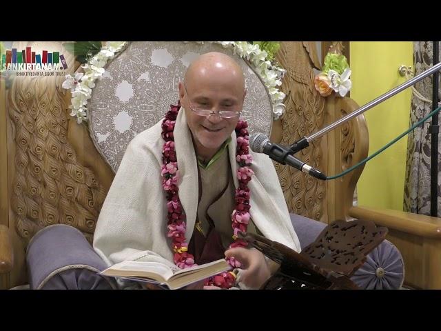 Лекция по Ш.Б. 1.17.33. Кришна Баларам прабху на фестивали санкиртаны в Казани