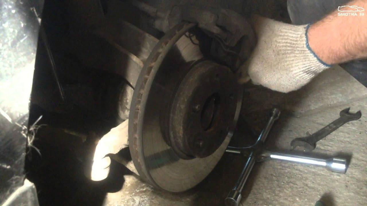 Замена ступичного Ford Focus 2