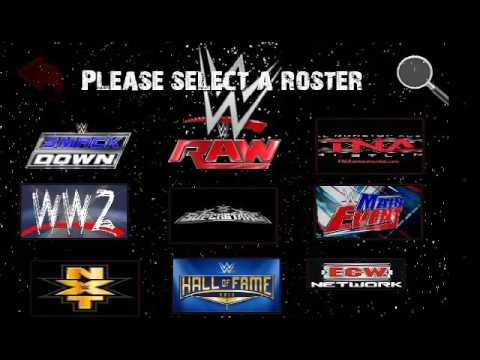 Wrestling Revolution 3D WWE 2K17 Best Mod
