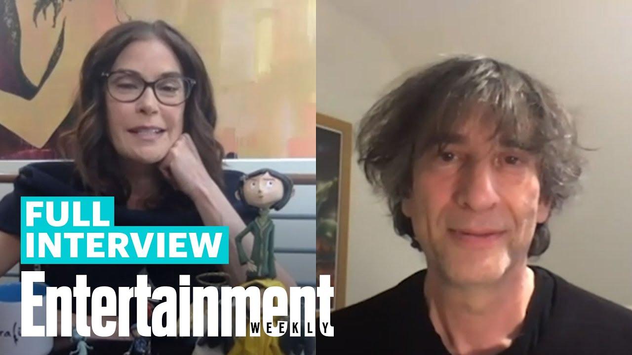 Coraline S Neil Gaiman Teri Hatcher On The Film S Otherworldly Eeriness Entertainment Weekly Youtube