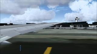 [FS2004 HD] American Airlines 767-200ER Departure @ New York/JFK