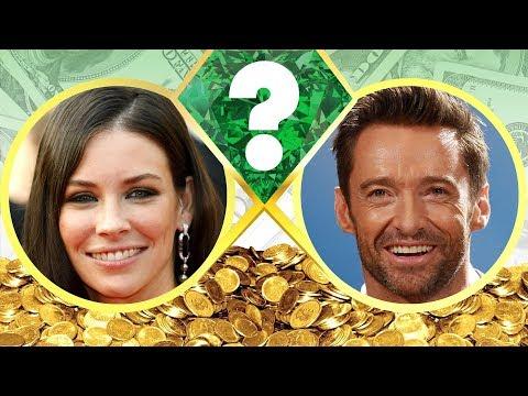 WHO'S RICHER? - Evangeline Lilly or Hugh...