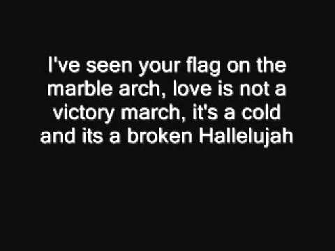 Hallelujah lyrics Rufus Wainwright - YouTube