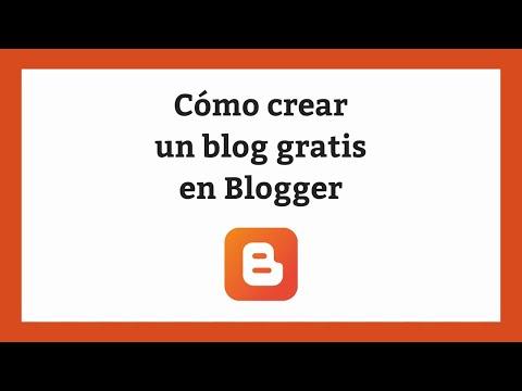 ☝️ Cómo crear un blog gratis en Blogger en 5 minutos