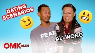Kalen & Ali Wong React to Dating Scenarios