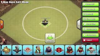 War base TH 9 anti 3 star new 2017 terkuat dan terbaik with reply